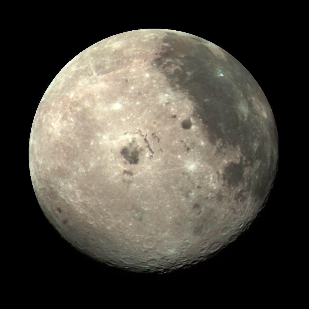 Nasa pictures of the dark side of moon Astronomy Picture of the Day